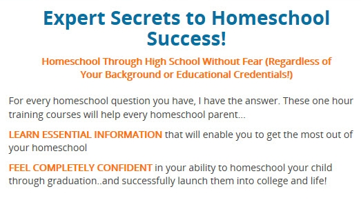expert secrets to homeschool success