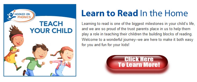 hooked on phonics learn to read in the home