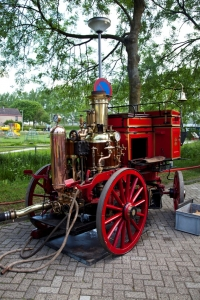 Water Pump Fire Truck