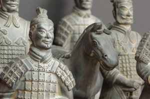 The Terracotta Army Statues In China
