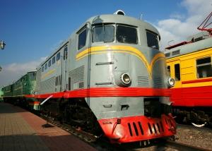 Diesel Engine Train