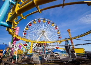 Santa Monica Pier - Daytime Rides