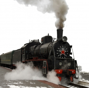 First Type of Train was the Steam-Powered Locomotive