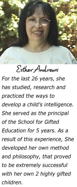esther andrews simple biography italic text