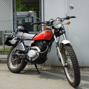Honda XL250 Enduro Motorcycle
