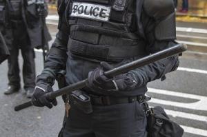 Portland Police in Riot