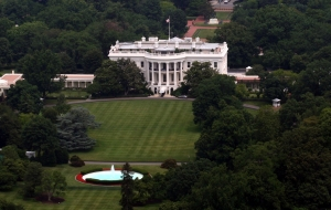 Aerial View of the White House