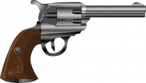 Criminals liked revolvers because they can be fired from a pocket.