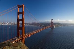 The Golden Gate Bridge of San Francisco