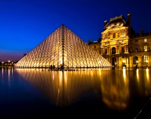 Louvre Pyramid is the Biggest Museum in Paris 45753934