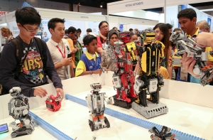 Robotic Exhibition in Schools