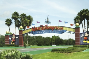 The Entrance Gate of the Disney World in Florida_22396539_m