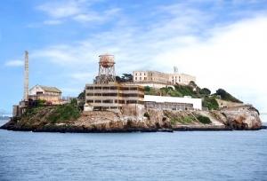 The Famous Alcatraz Island Jail in California