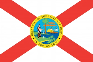 The Flag of the American State of Florida 44470687