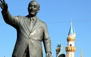 Walter Disney Statue