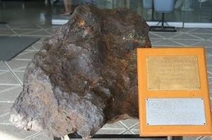 Meteorite on a Museum