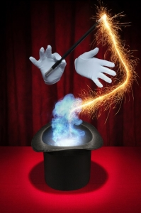 An Illustration of a Magic Performed in a Magic Hat