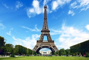 The World's Famous Eiffel Tower in Paris