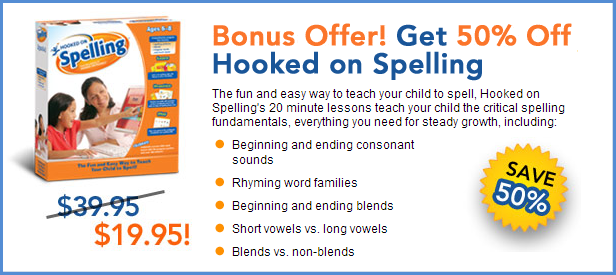 Hooked on Phonics Spelling