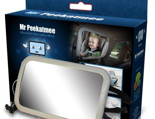 A PRODUCT REVIEW OF THE MR. PEEKATMEE INFANT CAR BACKSEAT SAFETY MIRROR BY A YOUNG MOM