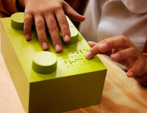 Helping Blind Children Learns To Read By Innovative Braille LEGO-Style Bricks
