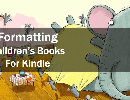 Formatting Children's Kindle Books Using Sigil
