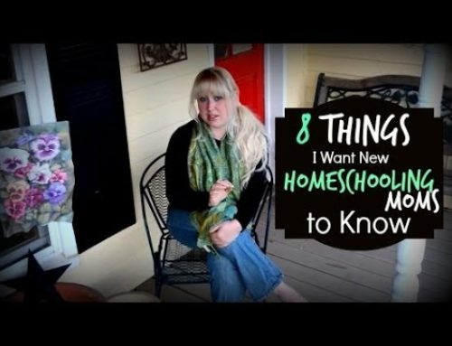 8 Things I Want New Homeschooling Moms to Know