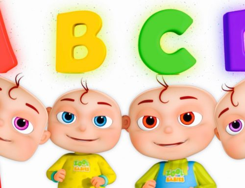 Five Little Babies Opening Surprise Eggs   ABC For Children   Phonics Song By Zool Babies